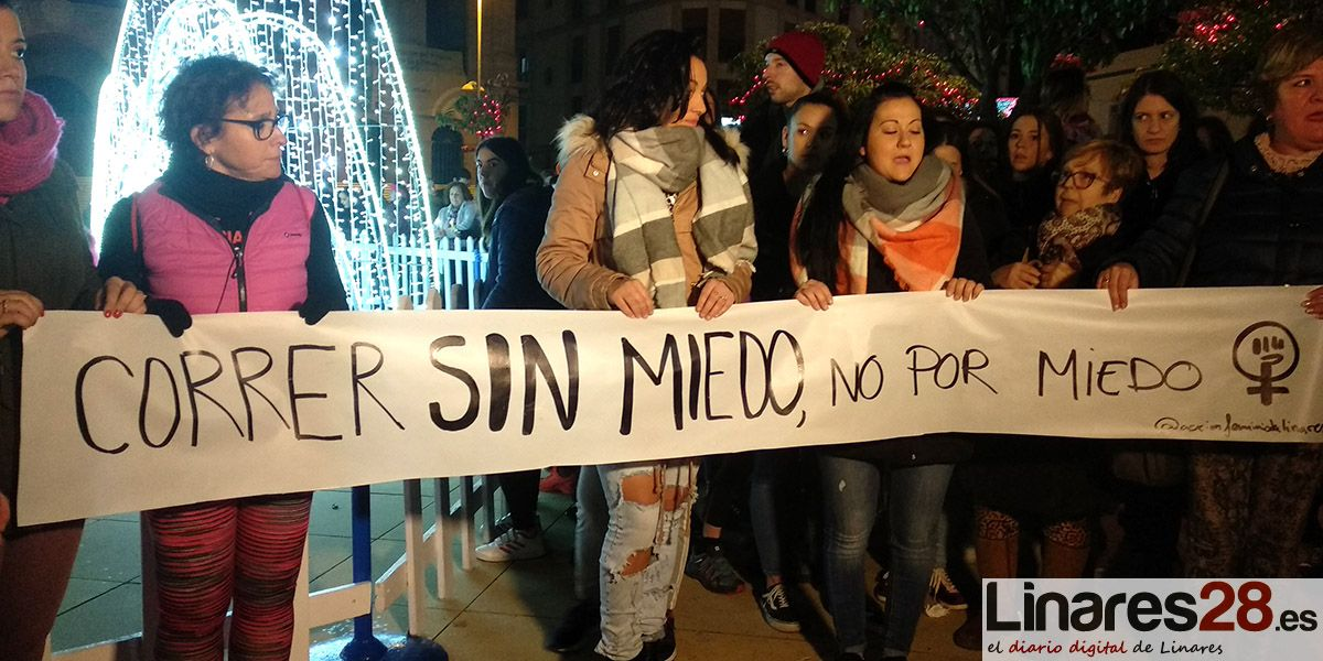 Linares marcha de forma multitudinaria contra la violencia machista