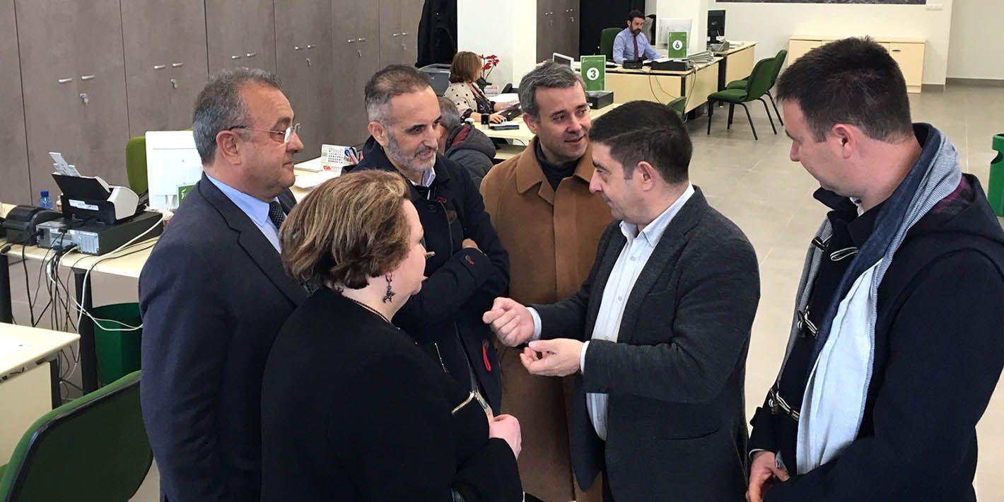 El Servicio de Gestión y Recaudación de Diputación traslada su sede en Linares a una oficina más accesible y moderna