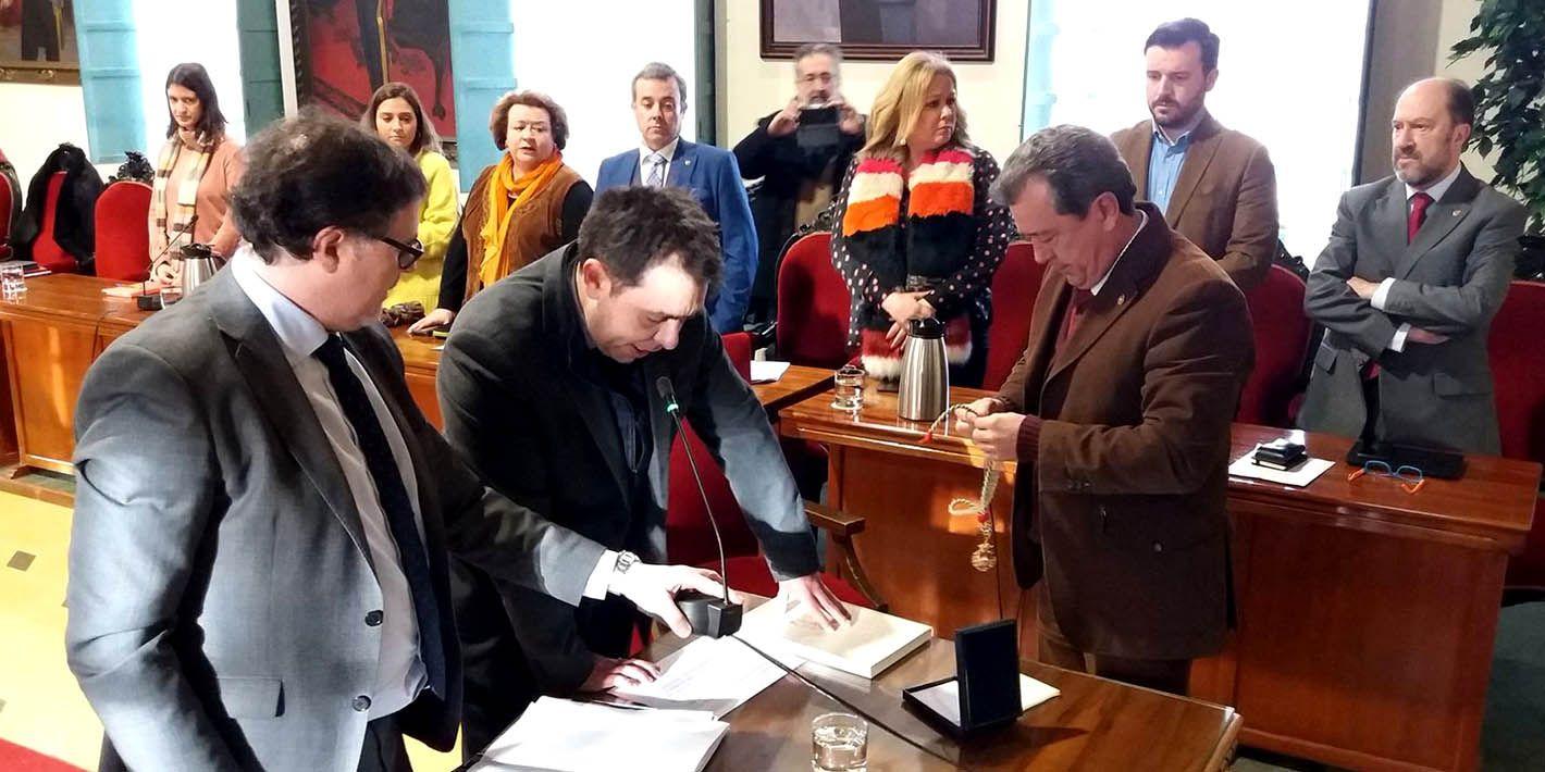 Joaquín Jesús Hernández Marín nuevo concejal del PSOE en el Ayuntamiento de Linares