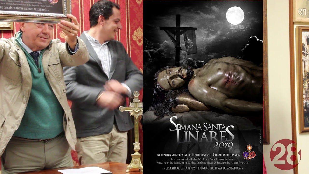 Una imagen del Santo Entierro para anunciar la Semana Santa de Linares 2019