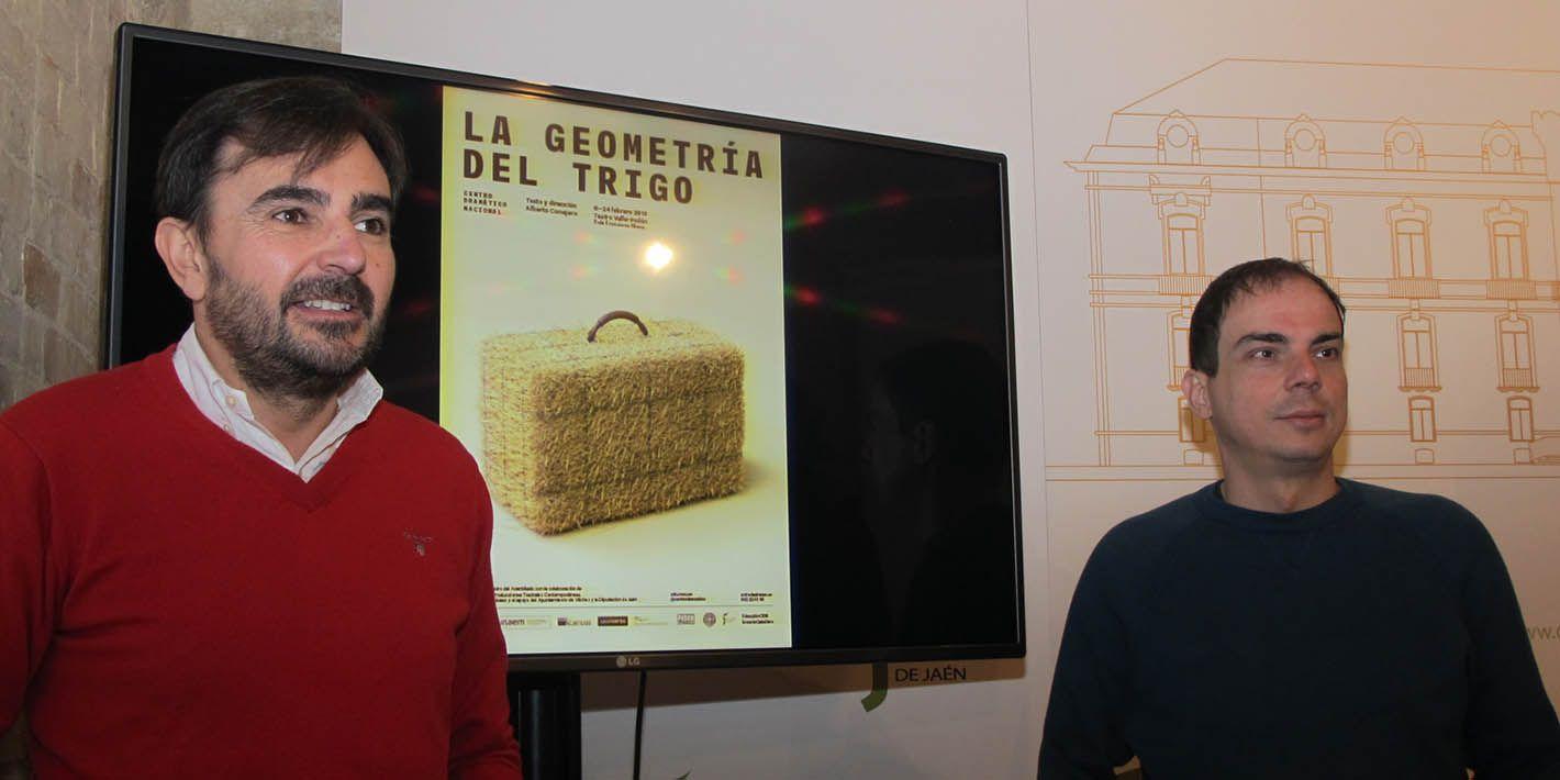 El paisaje minero entre Linares y Vilches escenario en el que transcurre la última obra de Alberto Conejero, 'La geometría del trigo'