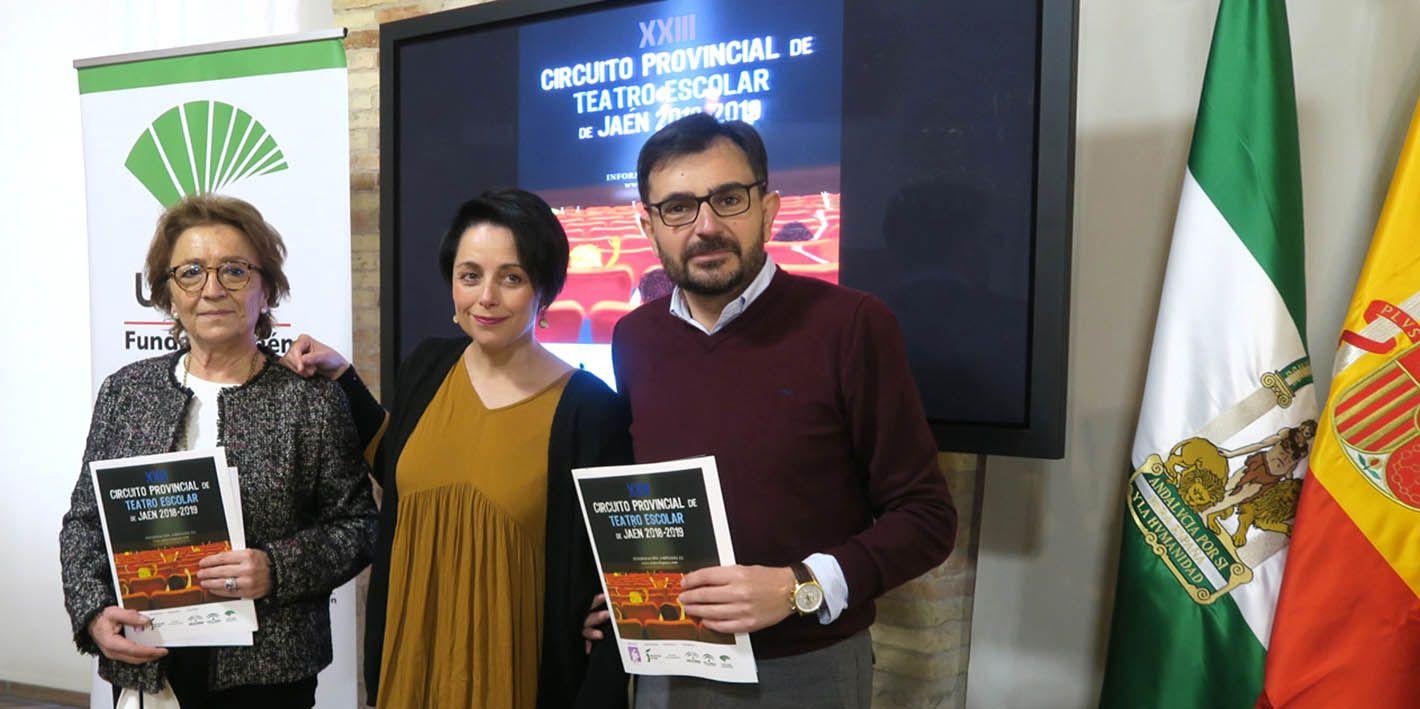 El Circuito Provincial de Teatro Escolar tendrá parada en Linares