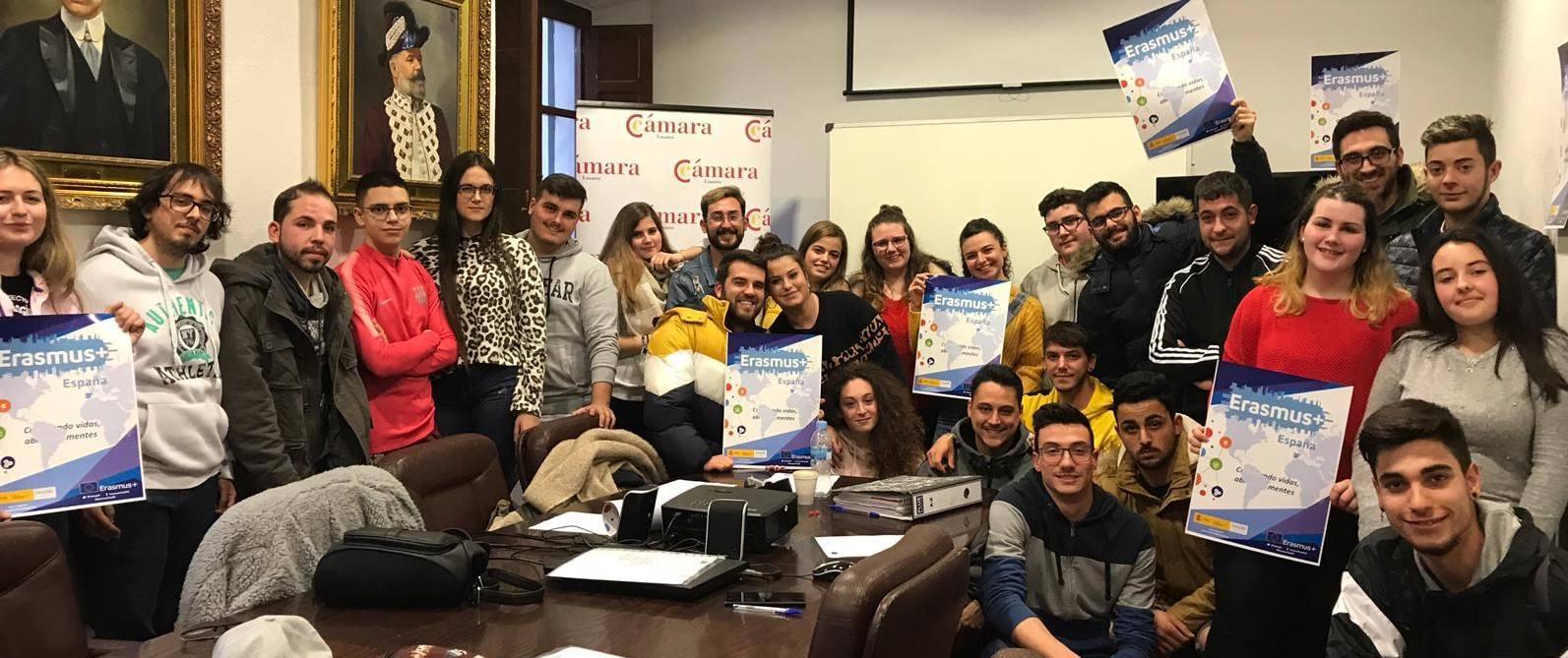 La Cámara de Linares pone en marcha una nueva edición del programa Erasmus+