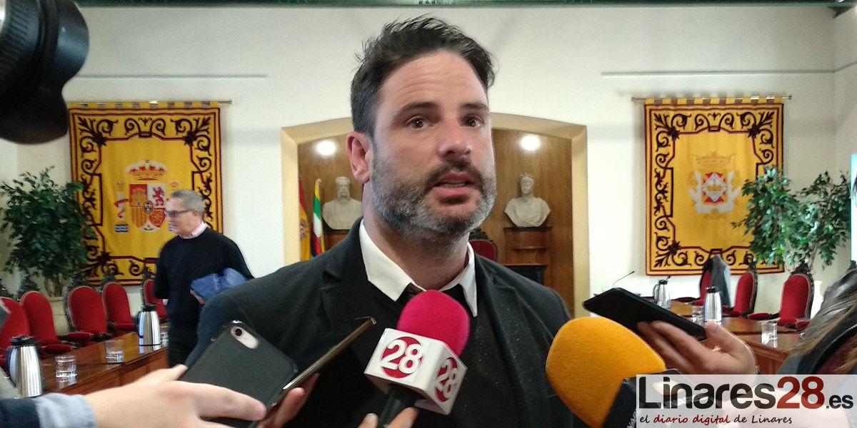 """Hervás (Cs): """"El Ayuntamiento debe mirar al futuro de Linares e ir de la mano con el nuevo Gobierno andaluz"""""""