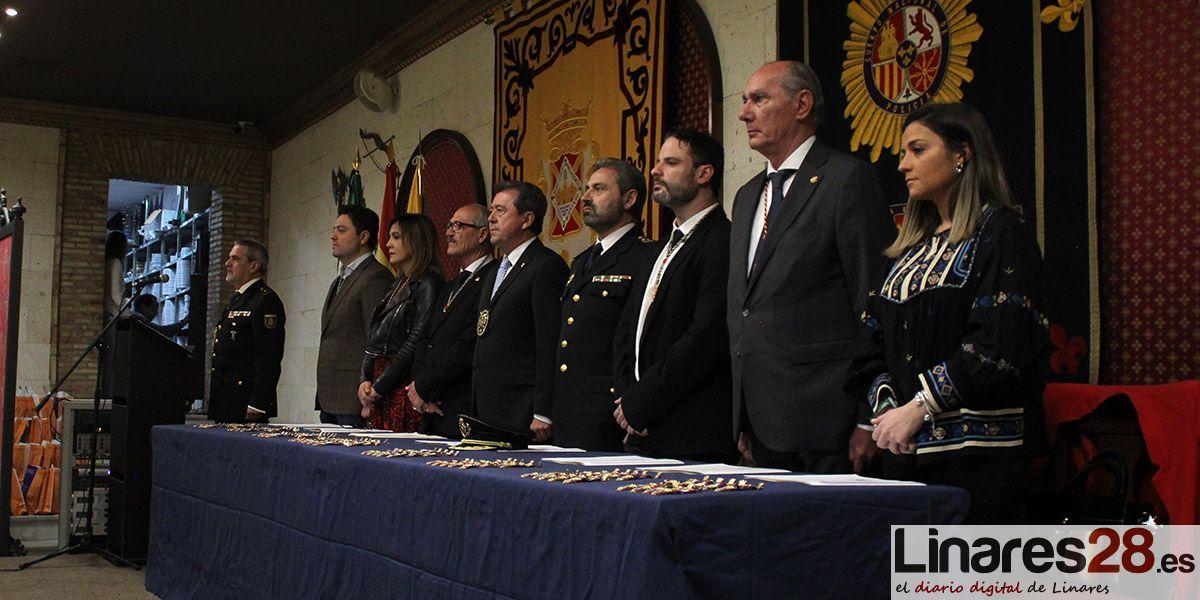 Linares rinde homenaje al Cuerpo Nacional de Policía