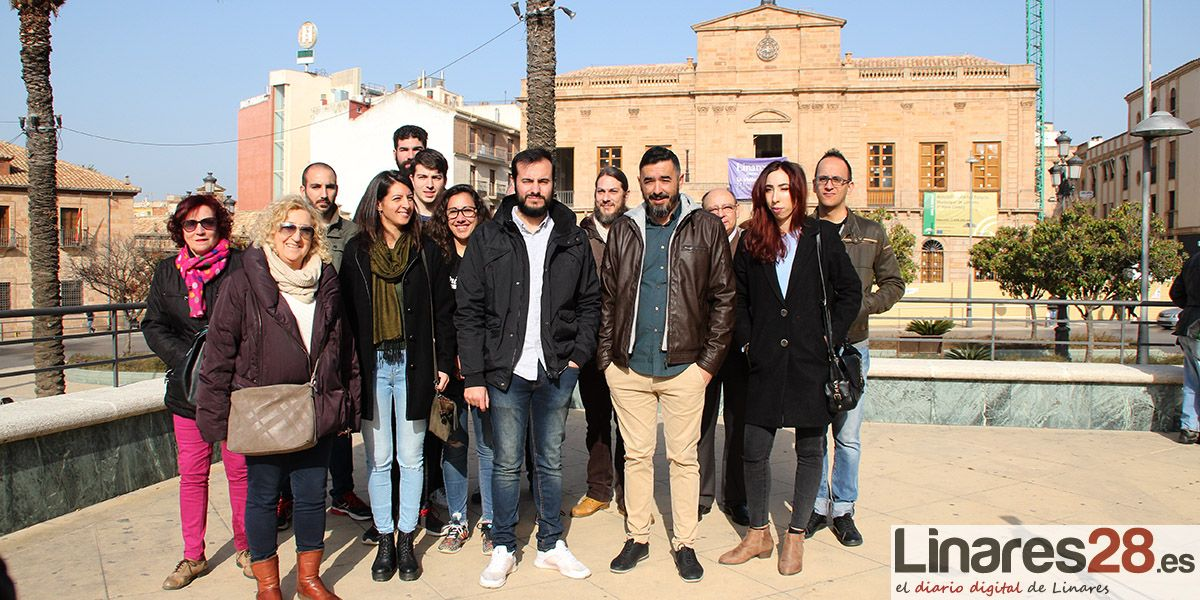 Izquierda Unida Linares no descarta la confluencia con Podemos para las municipales