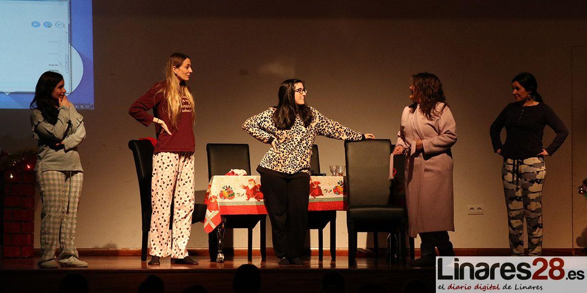 VÍDEO | Teatro y cultura para las cooperativas de enseñanza de Linares