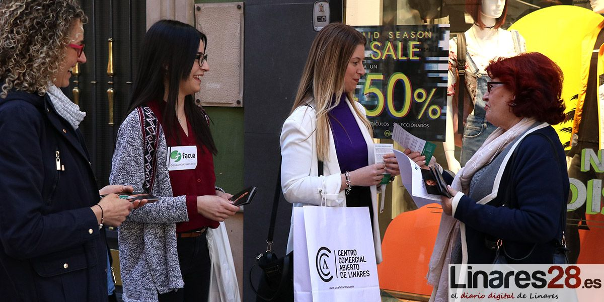 FACUA-Consumidores en Acción sale a las calles de Linares