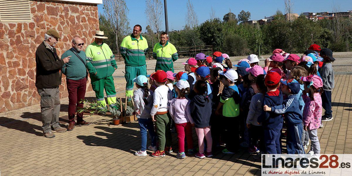 Alumnos y alumnas de educación infantil conocen el Parque de Cantarranas