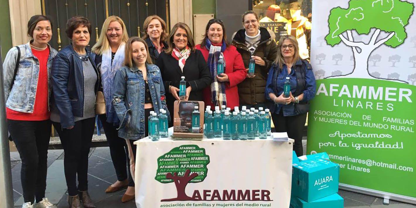 AFAMMER Linares tambien conmemora el Día de la Mujer