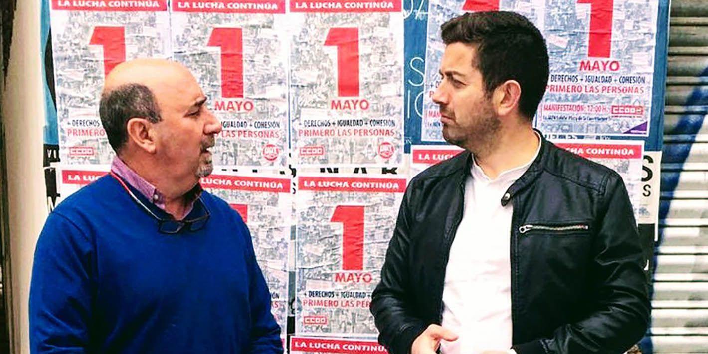 CCOO y UGT piden en Linares que la movilización de las clases medias y trabajadoras comience el 28 de abril en las urnas