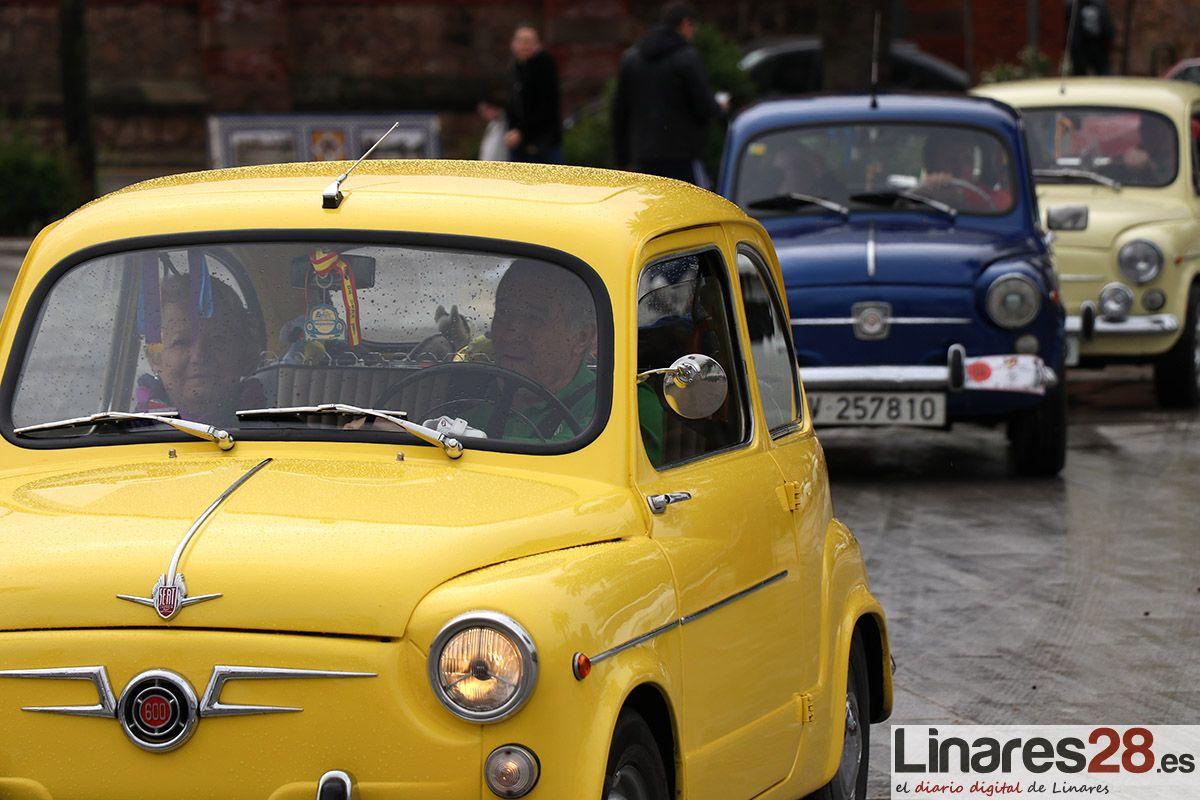 VÍDEO | Cerca 200 coches clásicos se han lucido por Linares este fin de semana