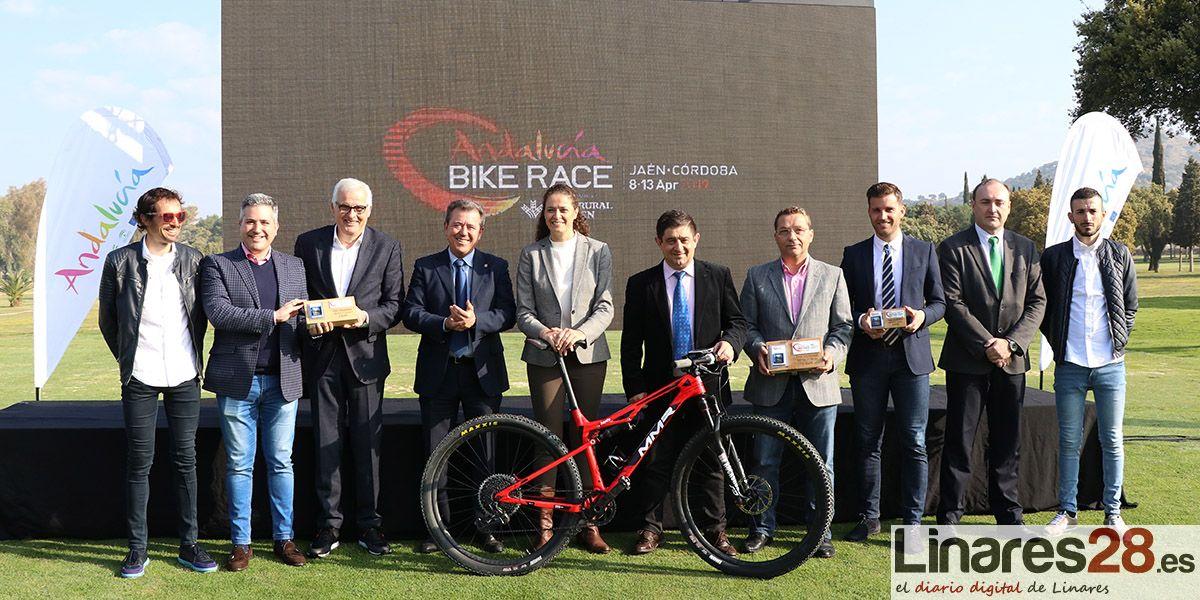 VÍDEO | Presentada en Linares la 'Andalucía Bike Race 2019'