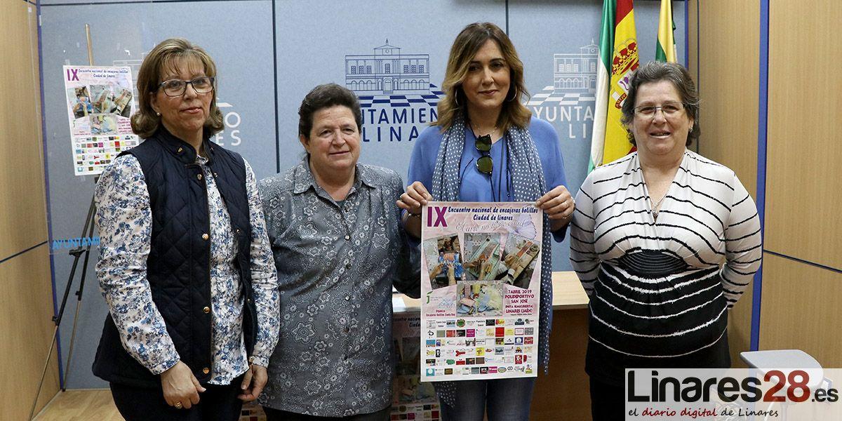 VÍDEO | Llega el 'IX Encuentro nacional de encajeras de bolillos Ciudad de Linares'