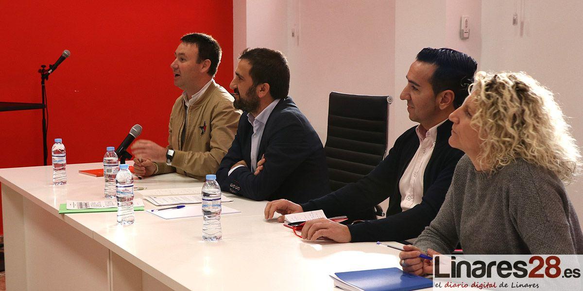 VÍDEO | Encuentro entre las entidades deportivas de Linares y el Portavoz de Deportes del PSOE en el Senado