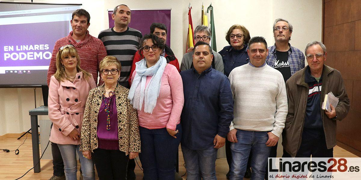 VÍDEO | Podemos Linares presenta oficialmente su candidatura a las municipales