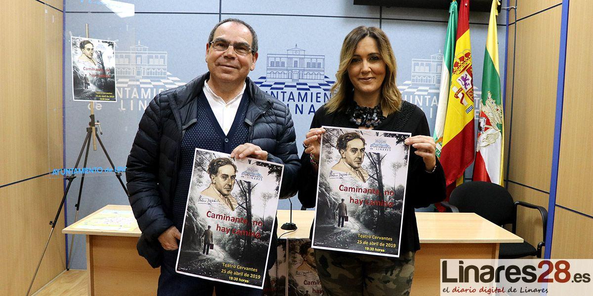 El jueves se estrena la obra 'Caminante no hay camino' en el Teatro Cervantes