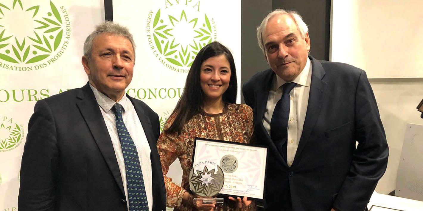 El AOVE Quinta San José de Linares recibe un nuevo premio internacional