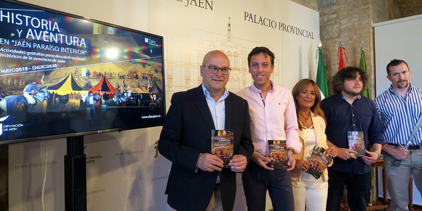 """El programa """"Vive Castillos y Batallas"""" ofrecerá 74 días de citas turísticas y culturales en los municipios de esta ruta"""