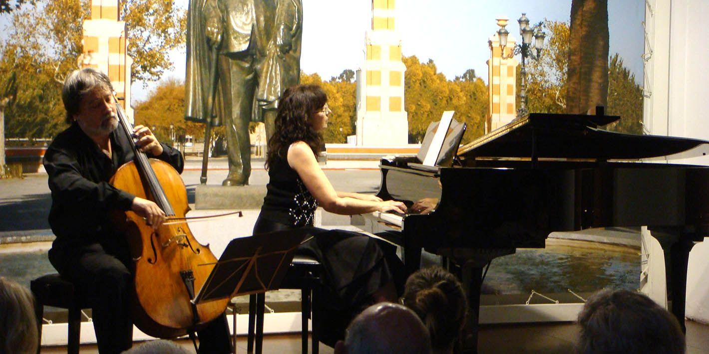 Brillante concierto de violonchelo y piano para el FIMAE'19