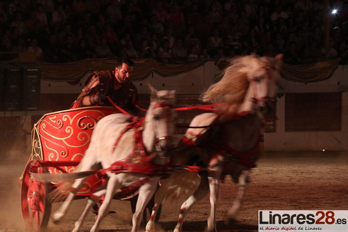 VÍDEO Y FOTOS | Legendario espectáculo en el 'Circus Maximus' de Linares
