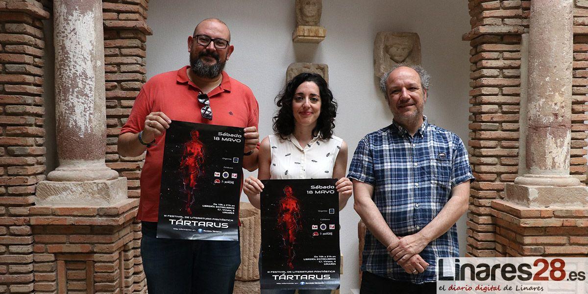 VÍDEO | Linares sigue apostando por la literatura fantástica en el 'III Festival Tártarus'