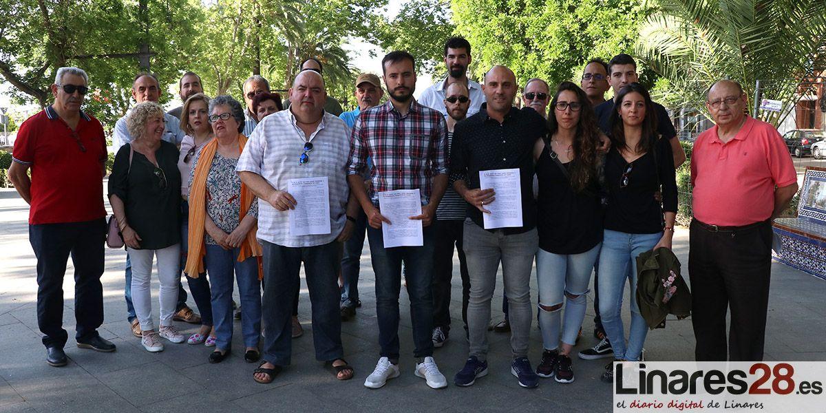 VÍDEO | Sindicalistas de Linares firman un manifiesto de apoyo a IU