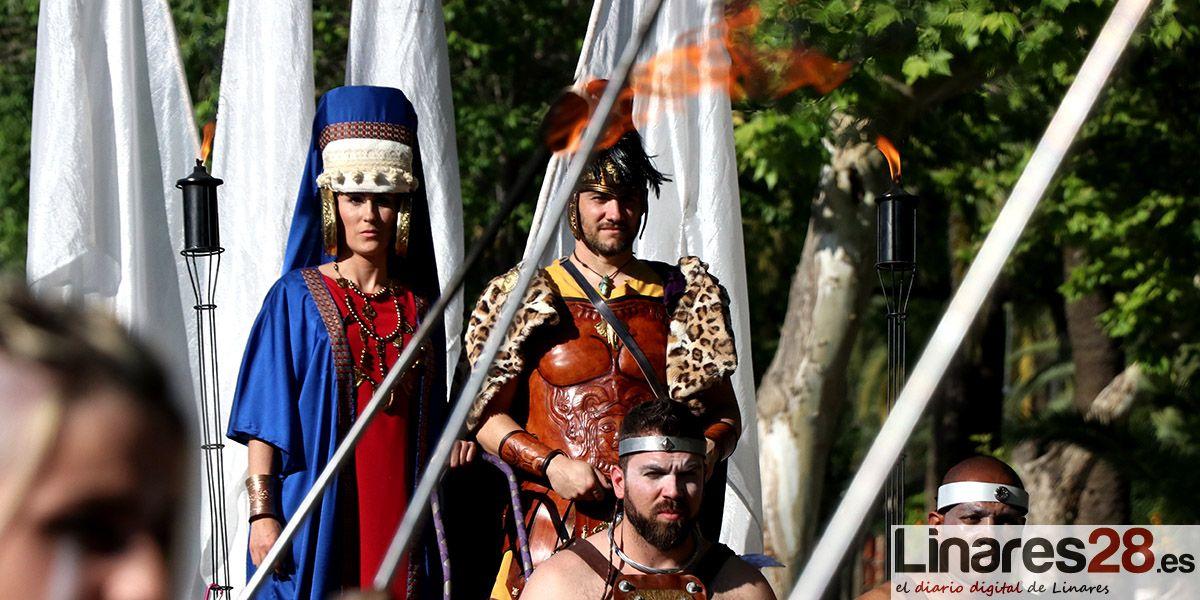 Turismo edita un calendario de las Fiestas Íbero Romanas de Cástulo