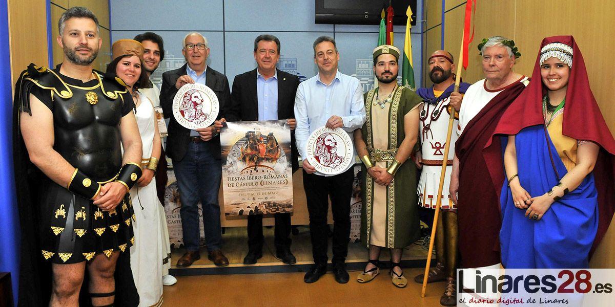 Las VI Fiestas de Cástulo arrancan este jueves para devolver a Linares a su pasado