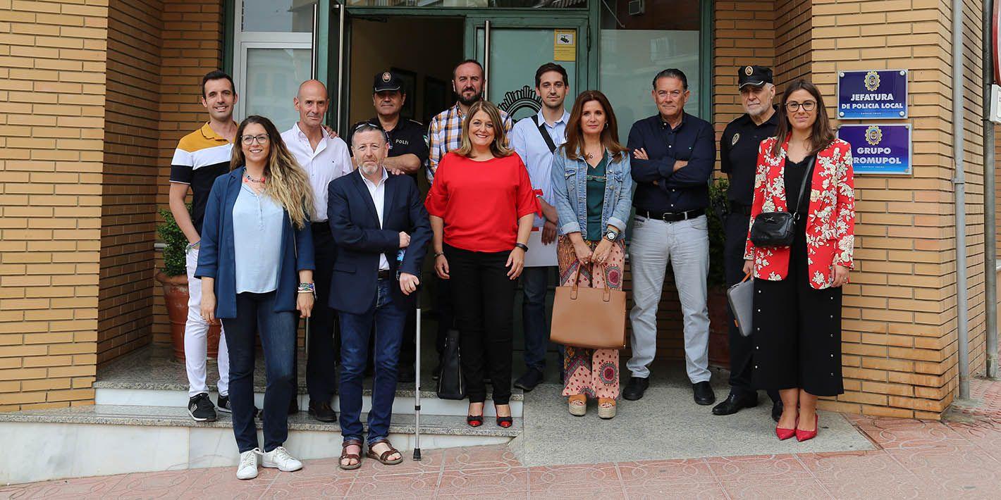 Primeras tomas de contacto del nuevo Gobierno de Linares