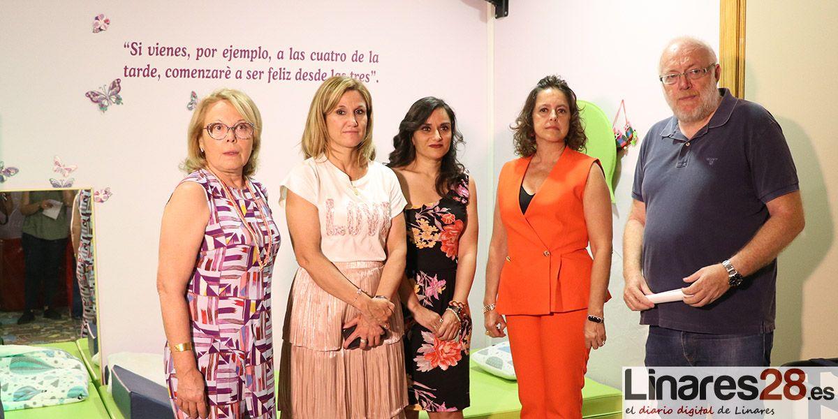 VÍDEO | AINPER atiende a 41 menores en su centro de atención temprana de Linares