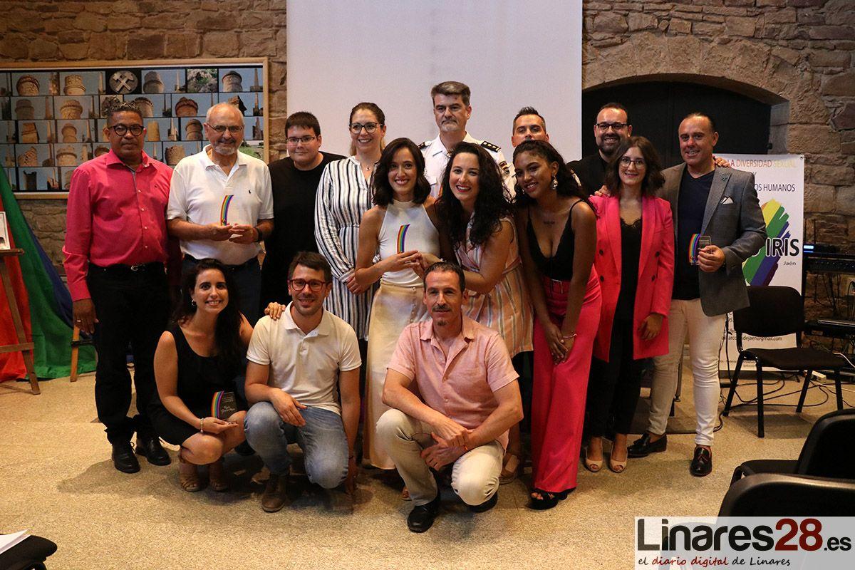 VÍDEOS | Arco Iris conmemora en Linares el 'Día del Orgullo LGBTI'