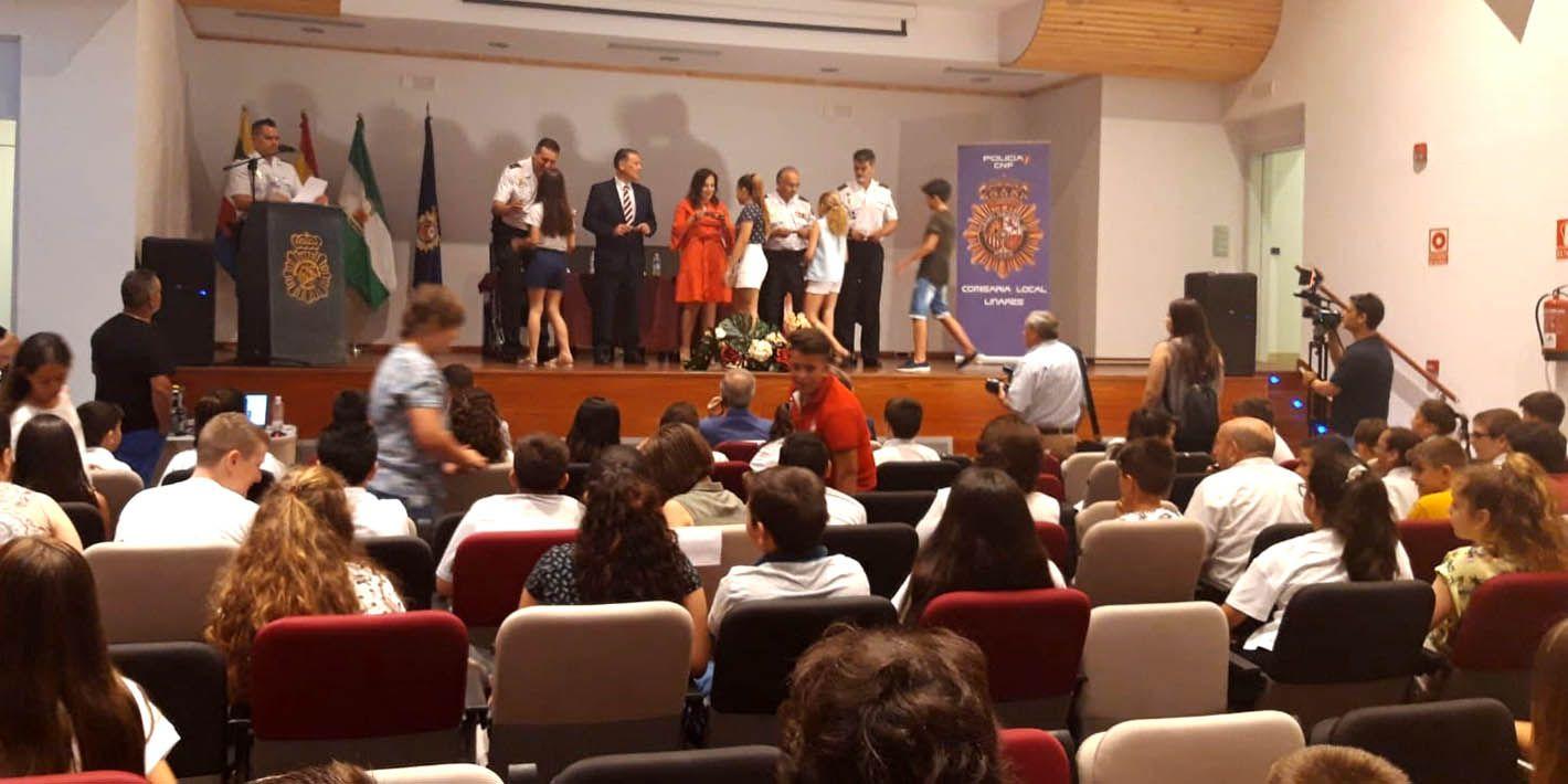 Los escolares 'Ciberexpert@s' de Linares ya tienen su carné