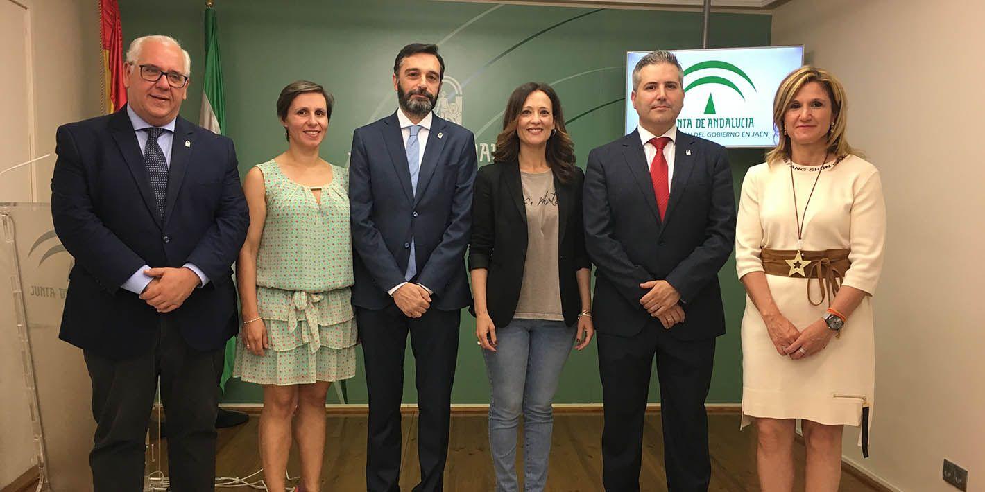El Presupuesto de Andalucía contempla el ramal de Vadollano y mejoras en el Parque Empresarial de Santana