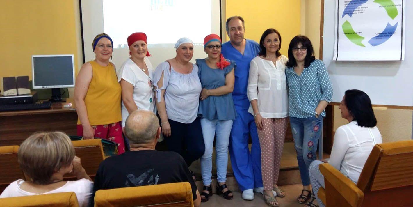 El Hospital de Linares acoge la quinta edición de la escuela de pacientes de cáncer de mama