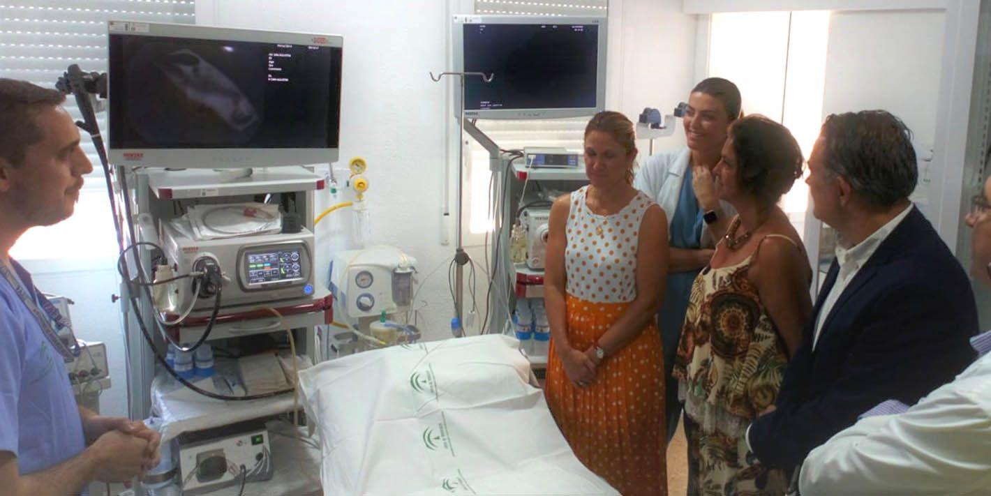 VÍDEO | El Hospital de Linares duplicará capacidad diagnóstica con una nueva sala de endoscopia digestiva