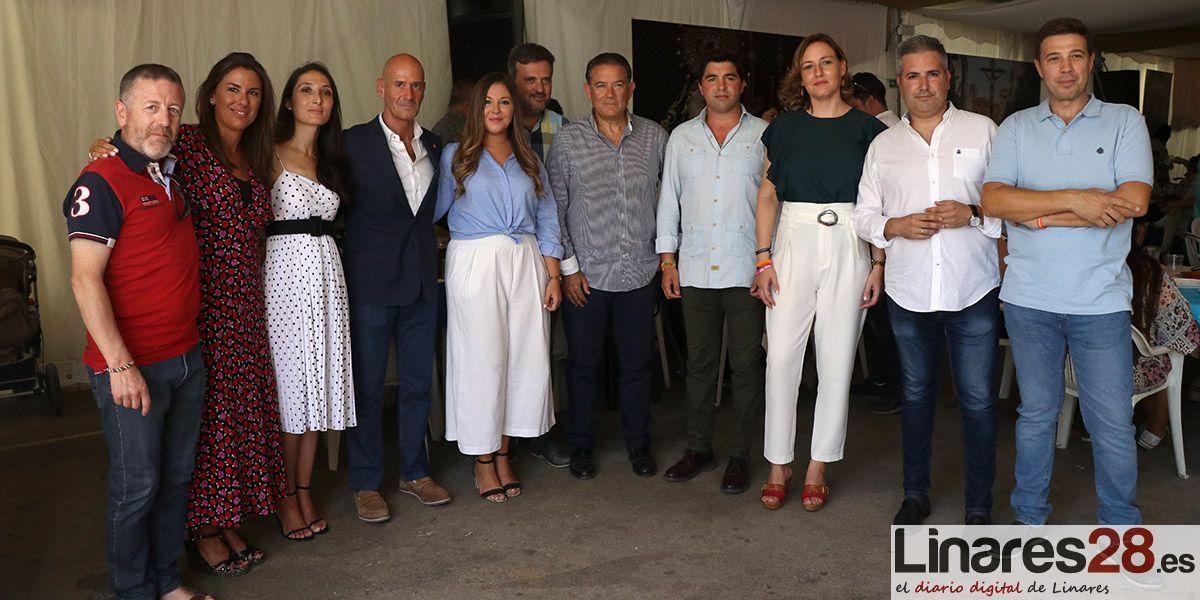 VÍDEO | 'Cumbre provincial' de Cs en la Feria de Linares