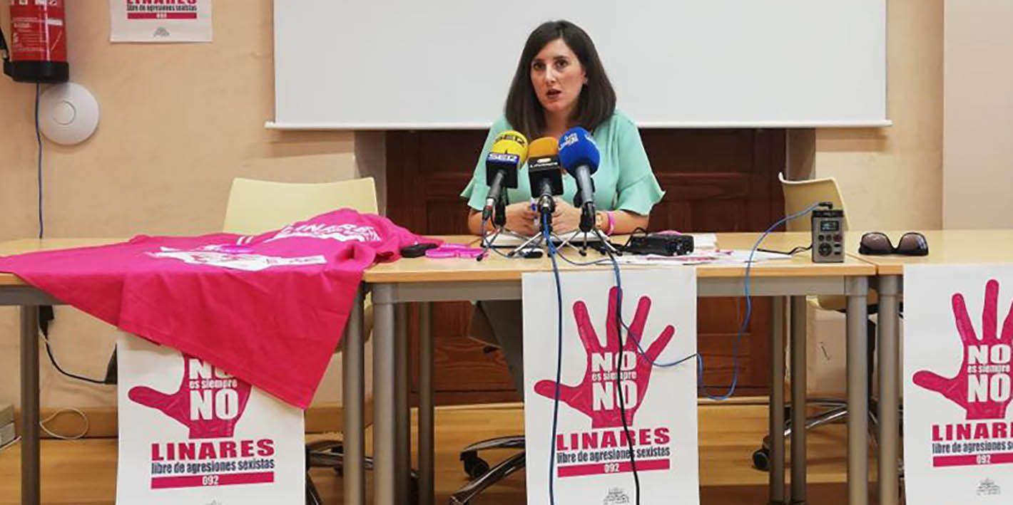 VÍDEO | Presentada la campaña 'No es siempre no, Linares libre de agresiones sexistas'