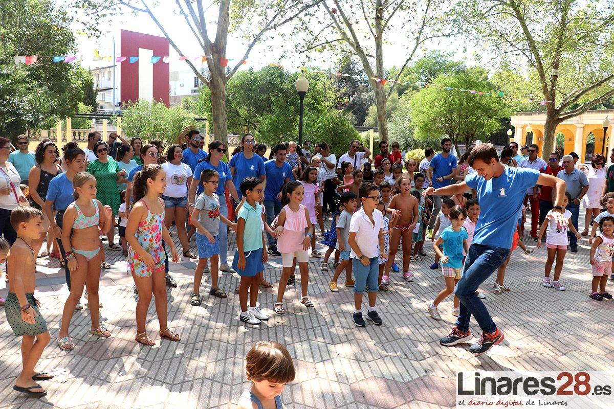 VÍDEO Y FOTOS | Los más pequeños, grandes protagonistas de la Feria de Linares
