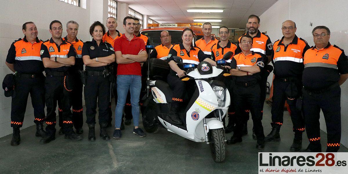 VÍDEO | Un nuevo vehículo para Protección Civil de Linares