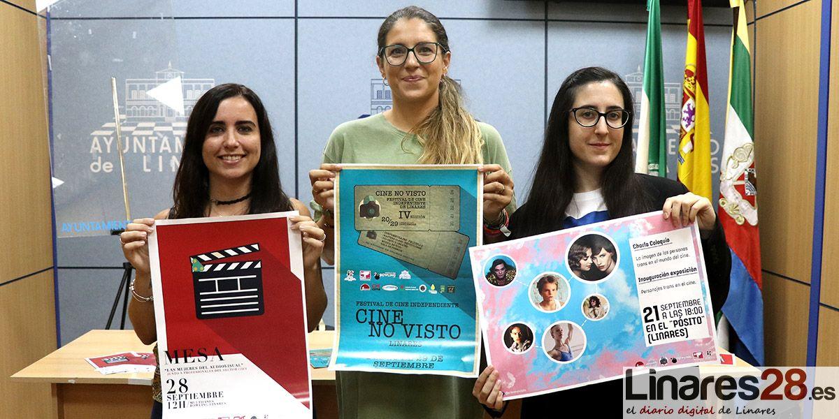 VÍDEO | Vuelve el cine independiente a Linares gracias 'IV Festival de Cine No Visto'