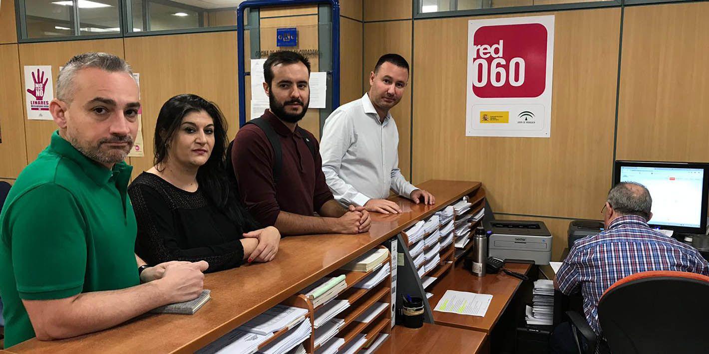 PSOE e IU registran una solicitud de convocatoria de Pleno Extraordinario en Linares
