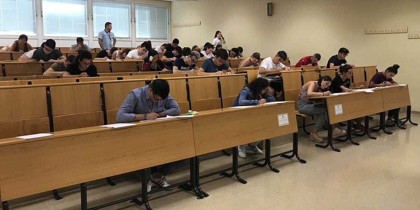 El 70,66 % de los estudiantes supera la Prueba de Acceso a la Universidad en Jaén en la convocatoria de septiembre