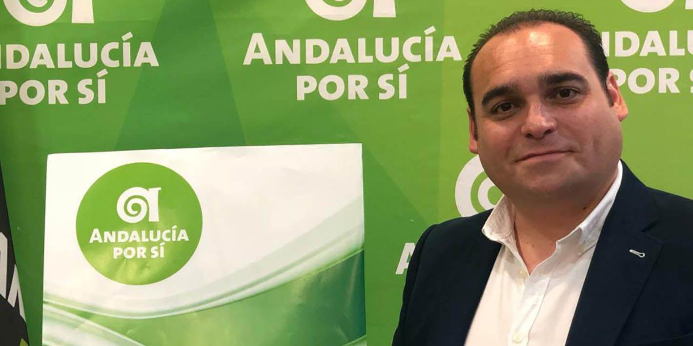 El linarense Vicente de los Ríos cabeza de lista al Congreso por 'Andalucía Por Sí'