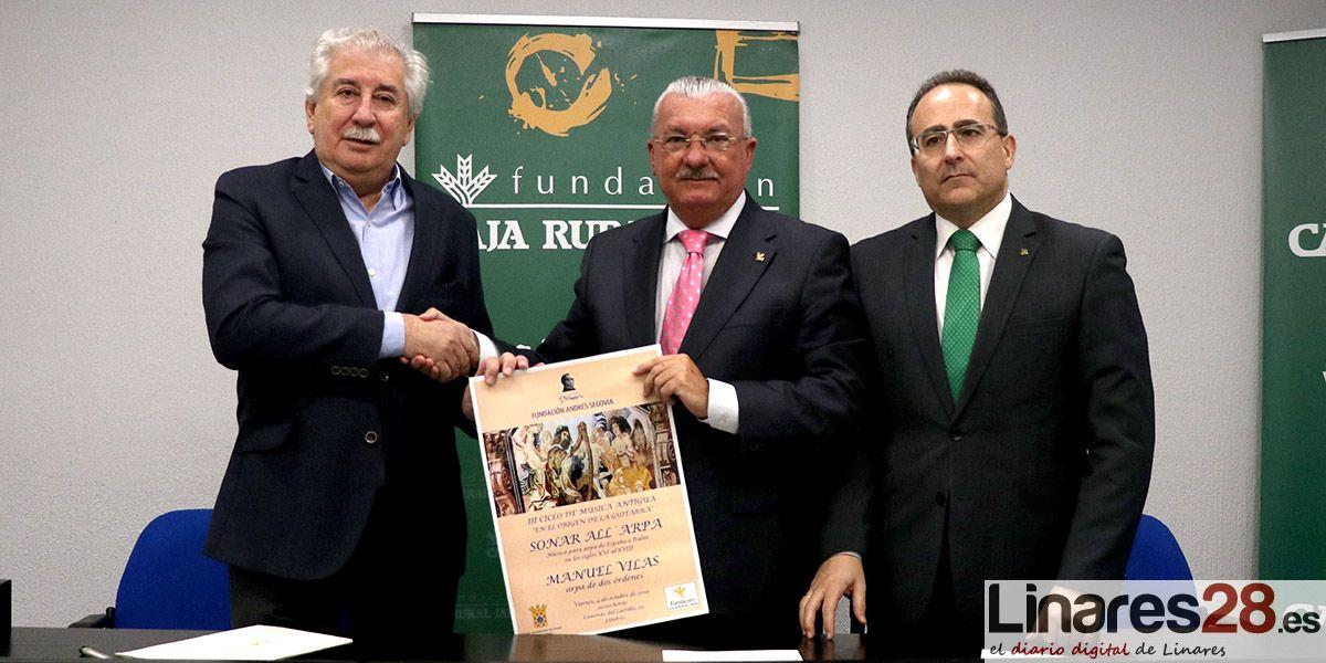 VÍDEO | Las Fundación Andrés Segovia y Caja Rural aproximarán el origen de la guitarra a Linares