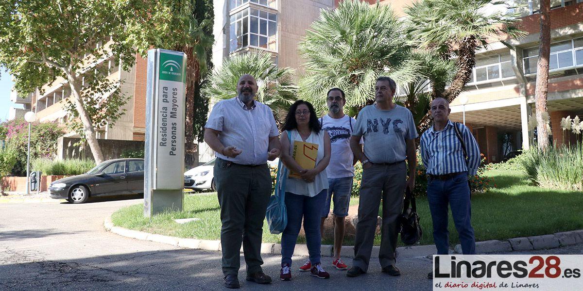 Adelante Andalucía preguntará a la Consejería por el futuro del Geriátrico de Linares