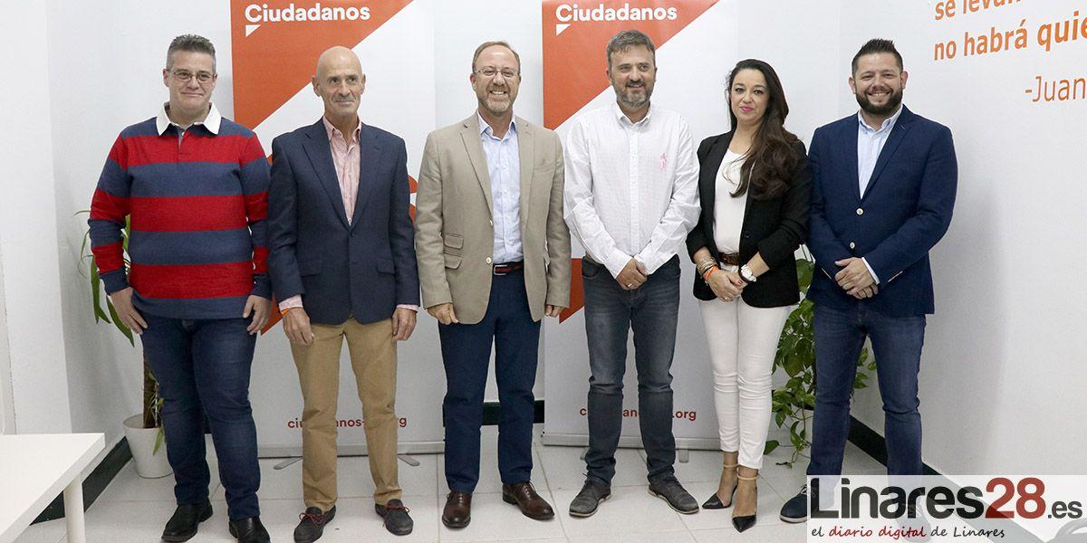VÍDEO | Ciudadanos Linares presenta oficialmente su nueva Junta Directiva