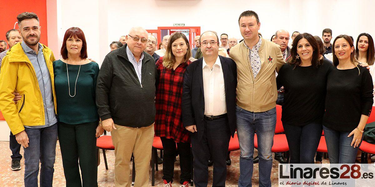 VÍDEO | El líder del PSC, Miquel Iceta, analiza la situación en Cataluña desde Linares