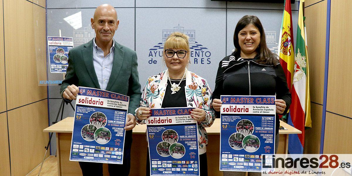 VÍDEO | Vuelve la 'Master Class Solidaria' en beneficio de la AECC de Linares