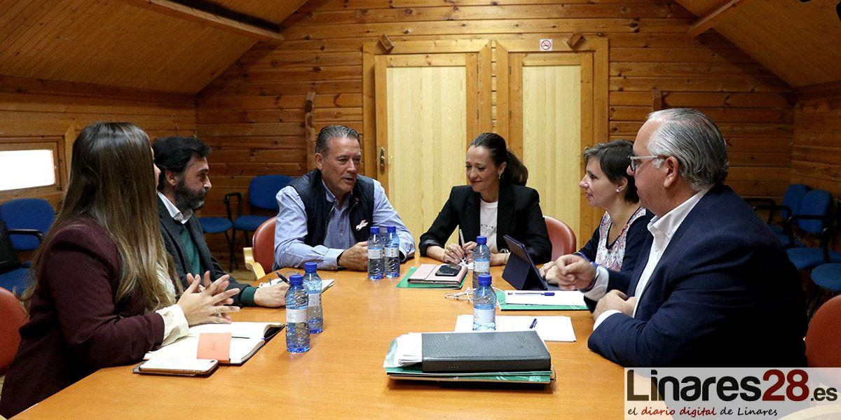 VÍDEOS | Linares acoge la comisión semanal de delegados territoriales de Jaén